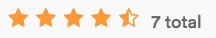 Kalka Star Ratings